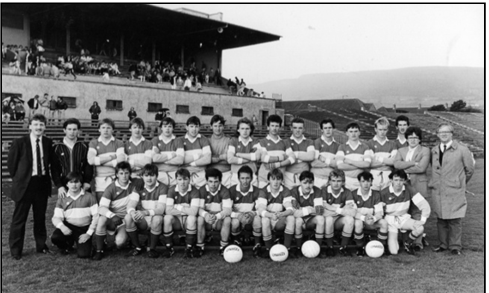 Minor Football Team 1987